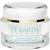 LIGNE ST BARTH - VISAGE - With Green Clay & Pineapple Purifying Cream Mask