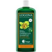 Logona - Shampoo - Bio-Haselnuss Farbreflex Shampoo Braun-Schwarz