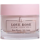 Love Rose Cosmetics - Gesichtspflege - Rose Wonder Silk Cream