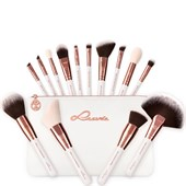 Luvia Cosmetics - Brush Set - Feather White Set