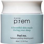 Make p:rem - Moisturizer - Radiance Peeling Sleeping Pack