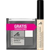 Manhattan - Augen - Sleeve Eyemazing Effect Eyeshadow + Endless Stay Eyeshadow Primer