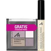 Manhattan - Yeux - Sleeve Eyemazing Effect Eyeshadow + Endless Stay Eyeshadow Primer