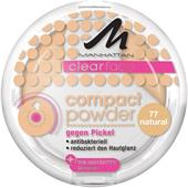 Manhattan - Ansikte - Clearface Compact Powder