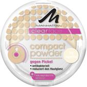 Manhattan - Obličej - Clearface Compact Powder