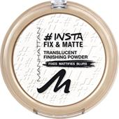 Manhattan - Ansikte - Insta Fix & Matte Powder