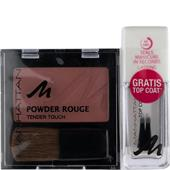 Manhattan - Gesicht - Powder Rouge 5 g + Nail Top Coat 10 ml