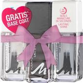 Manhattan - Unghie - Smalto per unghie Last & Shine Set regalo