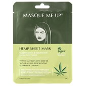 Masque Me Up - Gesichtspflege - Hemp Sheet Mask Green