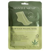 Masque Me Up - Körperpflege - Hemp Foot Peeling Mask Green