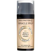 Max Factor - Kasvot - Miracle Prep 3 in 1 Beauty Protect Primer