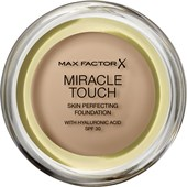 Max Factor - Kasvot - Miracle Touch Skin Perfecting Foundation SPF 30