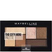 Maybelline New York - Lidschatten - The City Mini Palette