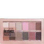 Maybelline New York - Lidschatten - The blushed Nudes Lidschatten Palette