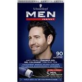Men Perfect - Coloration - Gel tonalizzante anti-grigio nero naturale