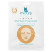 Miqura - Golden Silk Collection - Aftersun Sheet Mask White
