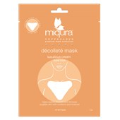 Miqura - Golden Silk Collection - Décolleté Mask Orange