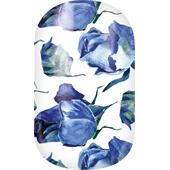Miss Sophie's - Nail Foils - Nail Wraps Flower Blues