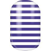 Miss Sophie's - Nagelfolien - Nail Wraps Navy Blue