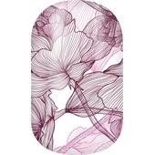 Miss Sophie's - Nail Foils - Nail Wraps Romantic Blush