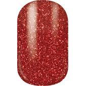 Miss Sophie's - Nail Foils - Nail Wraps Sparkling Red