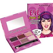 Misslyn - Lidschatten - Eye Love It Eyeshadow Palette