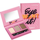 Misslyn - Lidschatten - Eye Want It! Eyeshadow Set 14