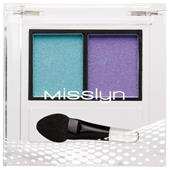 Misslyn - Lidschatten - High Shine Duo Eyeshadow