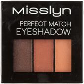 Misslyn - Orient Express - Perfect Match Eyeshadow
