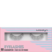 Misslyn - Wimpern - Eyelashes 60