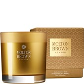 Molton Brown - Kerzen - Mesmering Oudh Accord & Gold Three Wick Candle