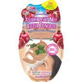 Montagne Jeunesse - Gesichtspflege - Tuchmaske Rote Tonerde