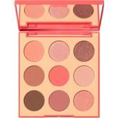 Morphe - Augen - Pretty in Peach Eyeshadow Palette