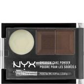NYX Professional Makeup - Eyebrows - Eyebrow Cake Powder