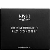 NYX Professional Makeup - Foundation - Pro Foundation Palette
