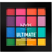 NYX Professional Makeup - Eye Shadow - Brights Ultimate Shadow Palette