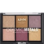 NYX Professional Makeup - Eye Shadow - Cosmic Metals Shadow Palette