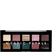 NYX Professional Makeup - Eye Shadow - Dark Mystic Mystic Petals Shadow Palette