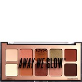NYX Professional Makeup - Lidschatten - Hooked on glow Away We Glow Shadow Palette