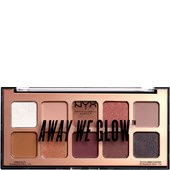 NYX Professional Makeup - Eye Shadow - Lovebalm Away We Glow Shadow Palette