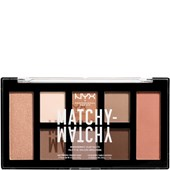 NYX Professional Makeup - Eye Shadow - Matchy-Matchy Shadow Palette Taupe