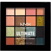 NYX Professional Makeup - Lidschatten - Ultimate Shadow Palette Utopia No.16