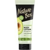 Nature Box - Body Lotions - Pflegende Body Lotion mit Avocadoduft