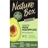 Nature Box - Shower care - Kiinteä hoitava suihkugeeli, avokadontuoksuinen