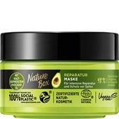 Nature Box - Haarkur - Reparatur Maske mit kaltgepresstem Avocado-Öl
