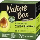 Nature Box - Shampoo - Festes Shampoo Reparatur