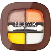Nicka K - Oči - Quad Eyeshadow