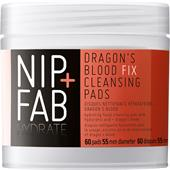 Nip+Fab - Hydrate - Dragon's Blood Fix Cleansing Pads