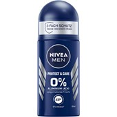 Nivea - Deodorantti - Nivea Men Protect & Care Deodorant Roll-On