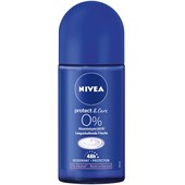 Nivea - Deodorant - Protect & Care Deodorant Roll-On